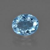thumb image of 3.3ct Oval Facet Swiss Blue Topaz (ID: 401952)