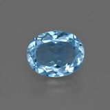 thumb image of 3ct Oval Facet Swiss Blue Topaz (ID: 401953)