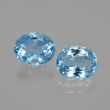 thumb image of 6.3ct Oval Facet Swiss Blue Topaz (ID: 402355)