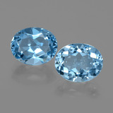 thumb image of 6.4ct Oval Facet Swiss Blue Topaz (ID: 402430)
