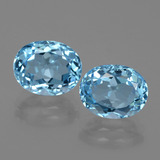 thumb image of 3.4ct Oval Facet Swiss Blue Topaz (ID: 402434)