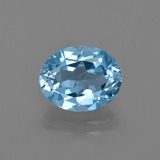 thumb image of 3.1ct Oval Facet Swiss Blue Topaz (ID: 402492)