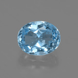 thumb image of 3.4ct Oval Facet Swiss Blue Topaz (ID: 402588)