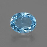 thumb image of 3ct Oval Facet Swiss Blue Topaz (ID: 402594)