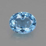 thumb image of 3.3ct Oval Facet Swiss Blue Topaz (ID: 402644)