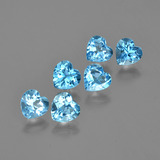 thumb image of 5.2ct Heart Facet Swiss Blue Topaz (ID: 403643)