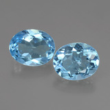 thumb image of 6.1ct Oval Facet Swiss Blue Topaz (ID: 404120)