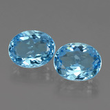 thumb image of 7.1ct Oval Facet Swiss Blue Topaz (ID: 404122)