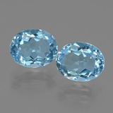 thumb image of 3.2ct Oval Facet Swiss Blue Topaz (ID: 404210)