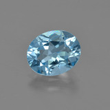 thumb image of 2.8ct Oval Facet Swiss Blue Topaz (ID: 404307)