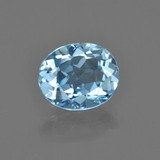thumb image of 3.4ct Oval Facet Swiss Blue Topaz (ID: 404317)