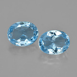 thumb image of 6.5ct Oval Facet Swiss Blue Topaz (ID: 404404)