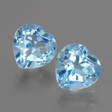 thumb image of 6.2ct Heart Facet Swiss Blue Topaz (ID: 404469)