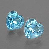 thumb image of 6.9ct Heart Facet Swiss Blue Topaz (ID: 404470)