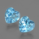 thumb image of 6.3ct Heart Facet Swiss Blue Topaz (ID: 404471)