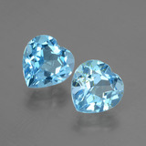 thumb image of 6ct Heart Facet Swiss Blue Topaz (ID: 404475)