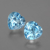 thumb image of 6ct Heart Facet Swiss Blue Topaz (ID: 404477)