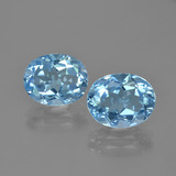 thumb image of 6.3ct Oval Facet Swiss Blue Topaz (ID: 404553)