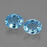 thumb image of 6.3ct Oval Facet Swiss Blue Topaz (ID: 404563)