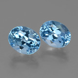 thumb image of 6.7ct Oval Facet Swiss Blue Topaz (ID: 404568)
