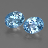 thumb image of 6.4ct Oval Facet Swiss Blue Topaz (ID: 404575)