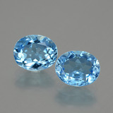 thumb image of 6.7ct Oval Facet Swiss Blue Topaz (ID: 404628)