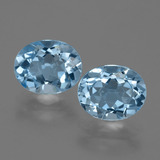 thumb image of 6.6ct Oval Facet Swiss Blue Topaz (ID: 404678)