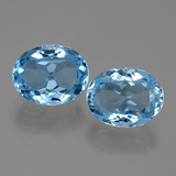 thumb image of 6.9ct Oval Facet Swiss Blue Topaz (ID: 404681)