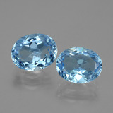 thumb image of 6.7ct Oval Facet Swiss Blue Topaz (ID: 404757)