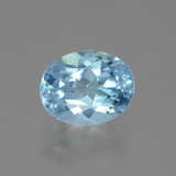 thumb image of 3.5ct Oval Facet Sky Blue Topaz (ID: 404867)