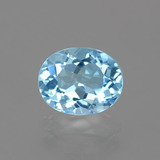 thumb image of 3.2ct Oval Facet Swiss Blue Topaz (ID: 404877)