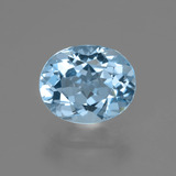thumb image of 3.3ct Oval Facet Sky Blue Topaz (ID: 404892)