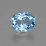 thumb image of 3ct Oval Facet Swiss Blue Topaz (ID: 404893)