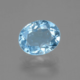 thumb image of 2.9ct Oval Facet Sky Blue Topaz (ID: 404898)