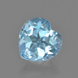 thumb image of 2.9ct Heart Facet Swiss Blue Topaz (ID: 404938)