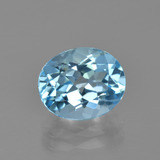 thumb image of 3.3ct Oval Facet Sky Blue Topaz (ID: 405004)