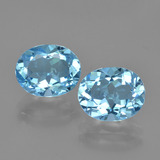 thumb image of 6.7ct Oval Facet Swiss Blue Topaz (ID: 405049)
