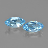 thumb image of 2.6ct Marquise Facet Swiss Blue Topaz (ID: 405080)