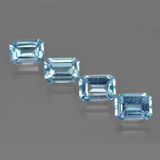 thumb image of 4.8ct Octagon Facet Swiss Blue Topaz (ID: 405112)