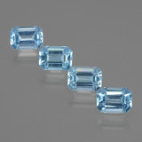 thumb image of 4.6ct Octagon Facet Swiss Blue Topaz (ID: 405232)