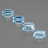 thumb image of 4.7ct Octagon Facet Swiss Blue Topaz (ID: 405233)