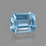thumb image of 2.7ct Octagon Facet Swiss Blue Topaz (ID: 405285)