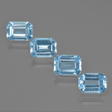 thumb image of 4.7ct Octagon Facet Swiss Blue Topaz (ID: 405323)