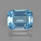 thumb image of 2.8ct Octagon Facet Swiss Blue Topaz (ID: 405653)