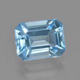 thumb image of 2.8ct Octagon Facet Swiss Blue Topaz (ID: 405659)