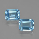 thumb image of 5.4ct Octagon Facet Swiss Blue Topaz (ID: 405677)
