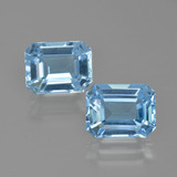 thumb image of 6.2ct Octagon Facet Swiss Blue Topaz (ID: 405678)