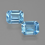 thumb image of 5.3ct Octagon Facet Swiss Blue Topaz (ID: 405681)