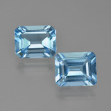 thumb image of 5ct Octagon Facet Swiss Blue Topaz (ID: 405682)
