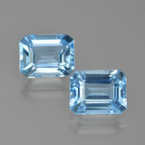 thumb image of 5.9ct Octagon Facet Swiss Blue Topaz (ID: 405683)